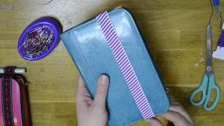 DIY Travelers Notebook From a Card Holder