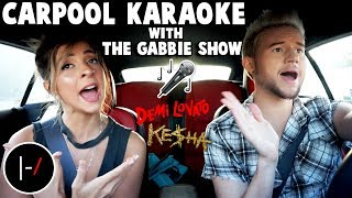 CARPOOL KARAOKE w/ THE GABBIE SHOW