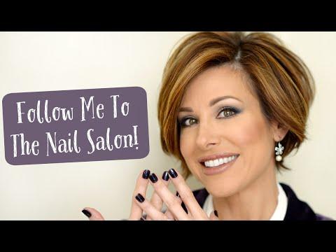 Follow Me To The Nail Salon!