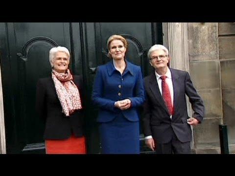 Danish government reshuffle