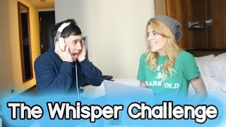 THE WHISPER CHALLENGE (ft Chester See) // Grace Helbig
