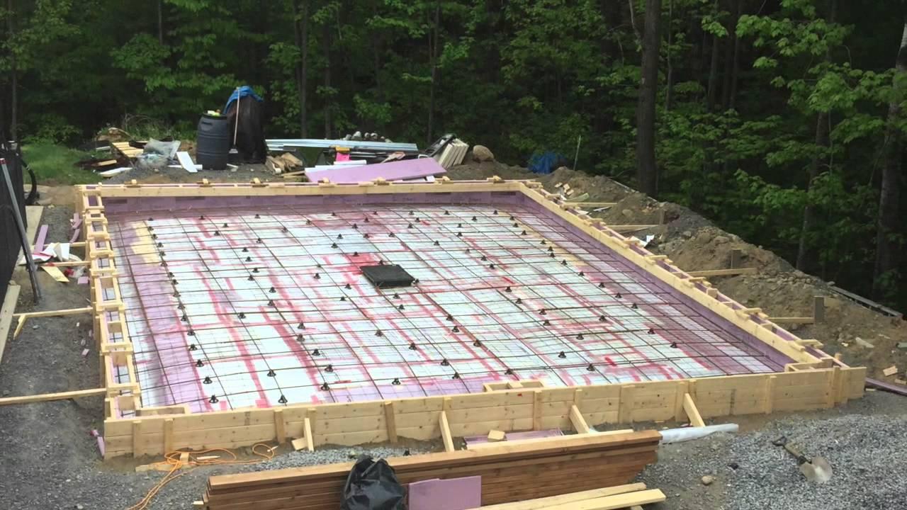 Garage 24x30 Avec Une Fondation Monolithique Www Inspectionmartinviau Com Youtube
