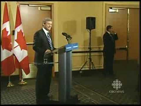"Canadian Prime minister Stephen Harper ""Do You Like Hand Cuffs?"""