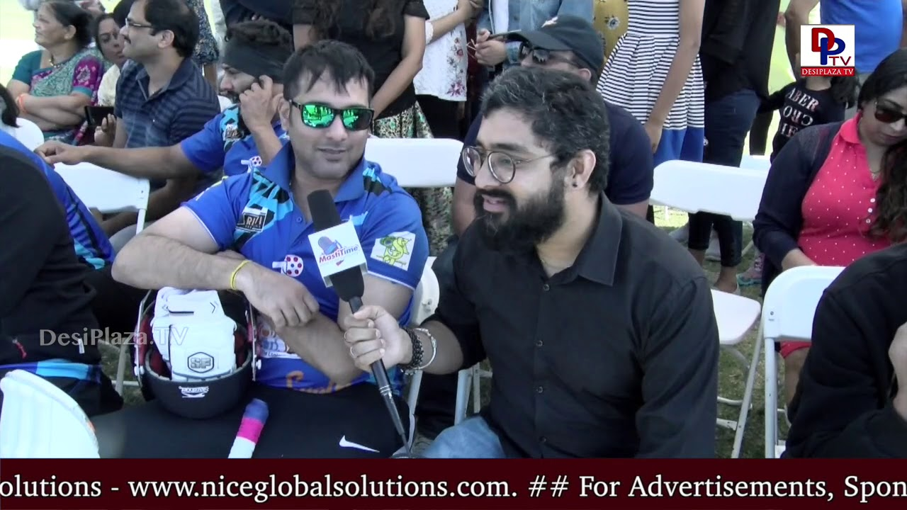 Lover Boy Tharun had a great time at Tollywood Film Stars Cricket in Dallas - DesiplazaTV