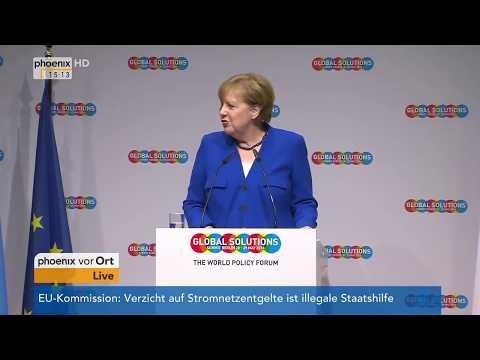 Rede von Angela Merkel auf dem 2. Global Solutions Summit am 28.05.2018