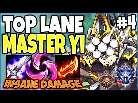 Top Lane Master Yi Is Beyond BROKEN | Assassin Yi Build | Bronze To Diamond Ep #04 League Of Legends