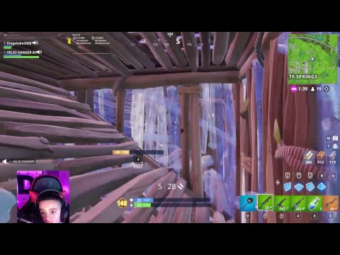 fortnite battle royale with new MOUSEPAD
