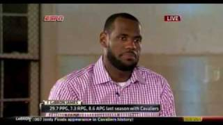 July 08, 2010 - ESPN - Lebron James