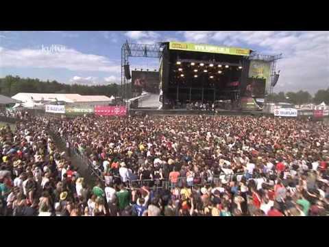 Royal Republic Live vom Hurricane Festival 2012