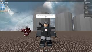 Roblox Iron Man Simulator secret area