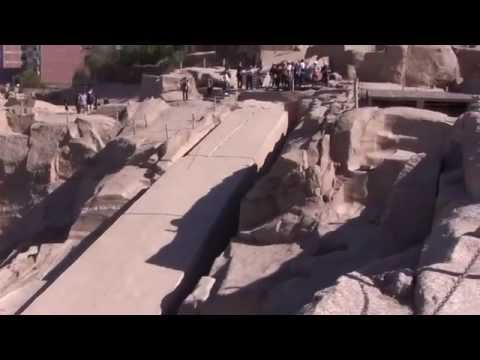 Ancient Technology: The 1168 ton Unfinished Obelisk at Aswan Quarry, Egypt