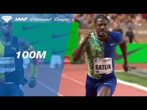 Justin Gatlin beats Noah Lyles over the 100 meters in Monaco ...