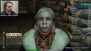 The Elder Scrolls IV: Oblivion Speedrun PB 29:57 IGT (No Out-of-Bounds) (6/8/17)