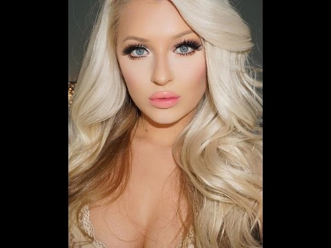 f6a08052014 Full Glam Night Out Barbie Inspired Makeup Tutorial - YouTube
