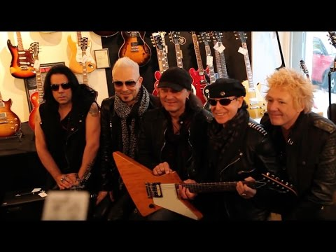 MJ Guitars 8th anniversary | With the SCORPIONS | Official Video 2016