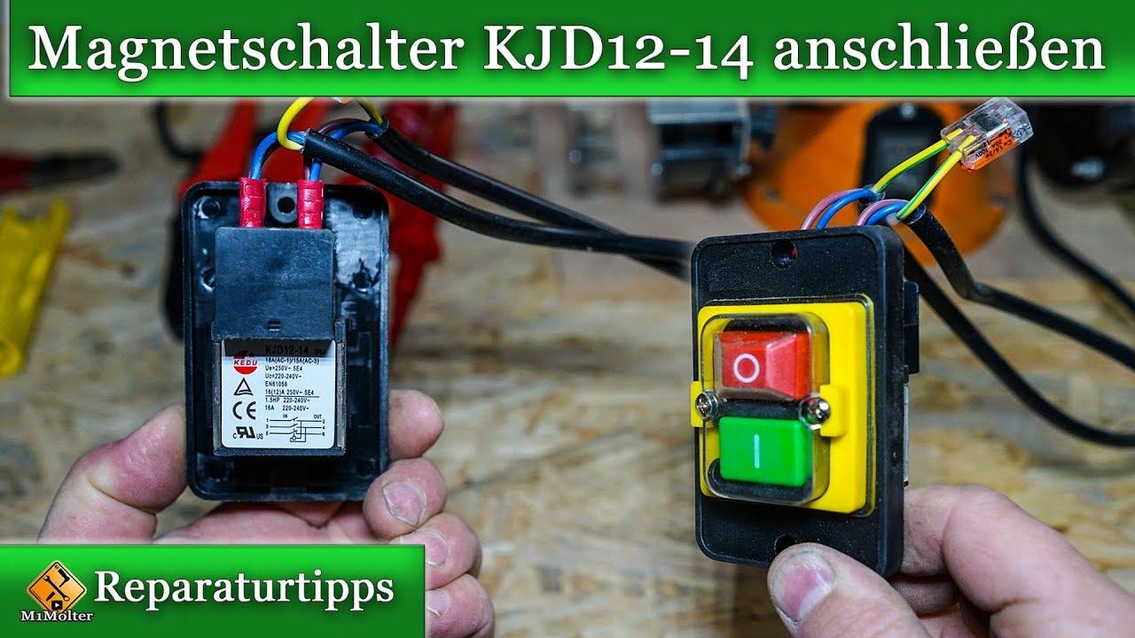 Maschinenschalter mit integriertem Relais und Unterspannungsausl/öser 230V 50Hz JD3//DZ7