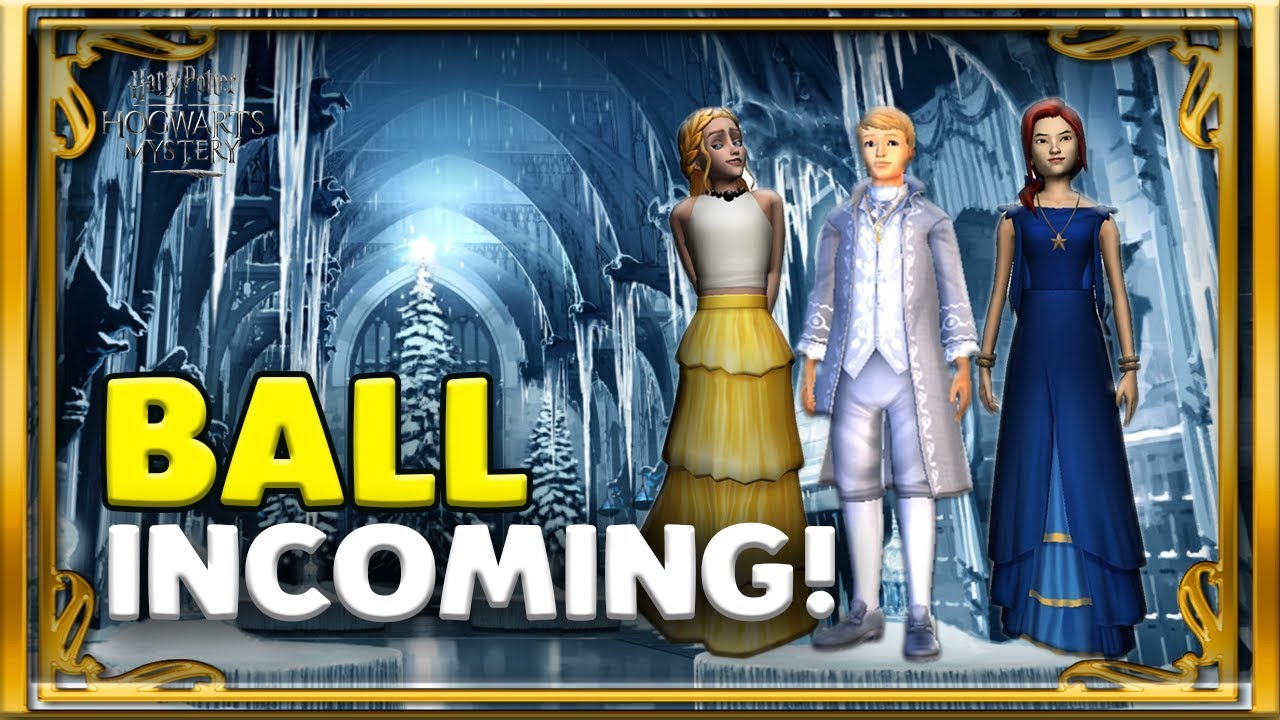 THE BALL, NEW CLOTHING👫 AND EXCLUSIVE REWARDS🗝! - HARRY POTTER: HOGWARTS  MYSTERY
