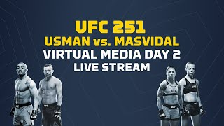 UFC 251 Virtual Media Day 2: Usman vs Masvidal - MMA Fighting