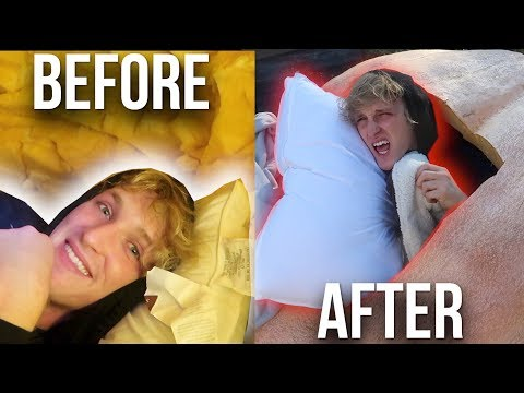 Thumbnail: 24 HOUR OVERNIGHT CHALLENGE INSIDE A GIANT PUMPKIN!!!