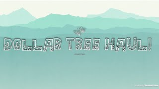 DOLLAR TREE HAUL! HALLOWEEN, FALL DECOR & MUCH MORE