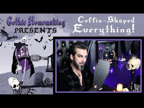coffin-shaped-everything!-coffins-on-parade!-gothic-homemaking-presents