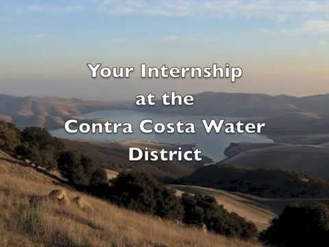 Your Internship at the Contra Costa Water District