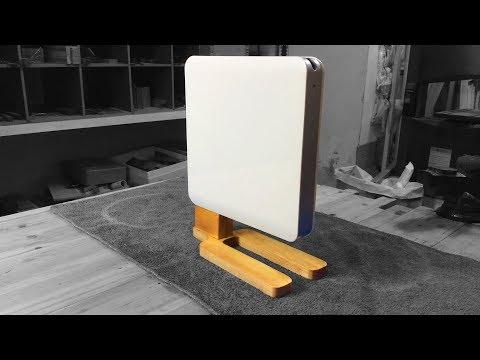 making PC bracket,Mini computer base,wood stand