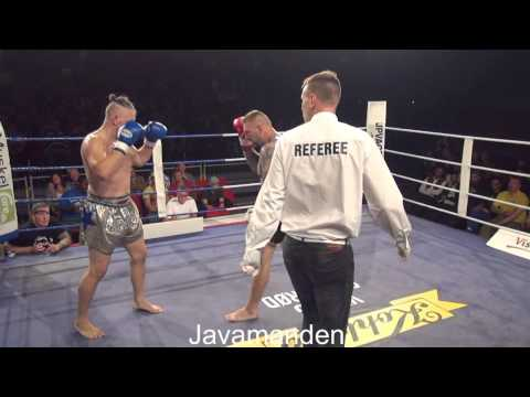 4  91 kg, C class 3×2 min  Peter Petersen DK vs Dennis Kjøng DK Mikenta Fight Night 12 09 2015 +71%K