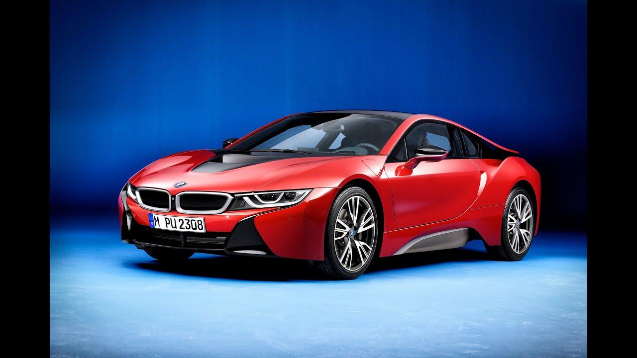 BMW i8 Protonic Red BMW M760i xDrive Volvo V90 Ford Escape