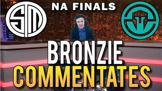Bronzie Commentates LCS | NA FINALS