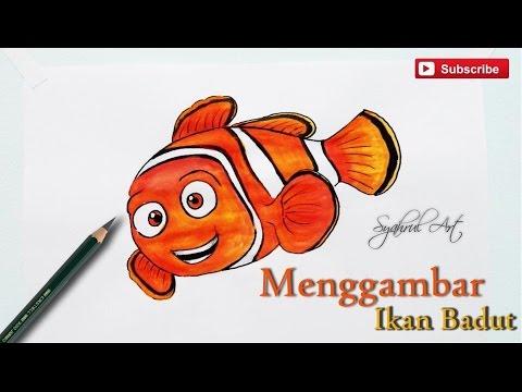 Menggambar Ikan Badut How To Draw Nemo Youtube