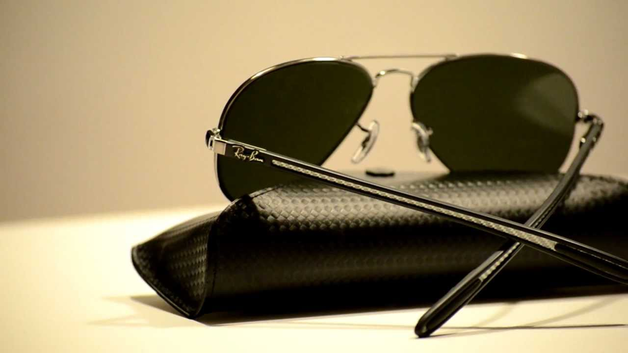 042d32c1c8 New Authentic Ray Ban Silver Mirror Sunglasses RB8307 004/40 RB 8307 -  YouTube