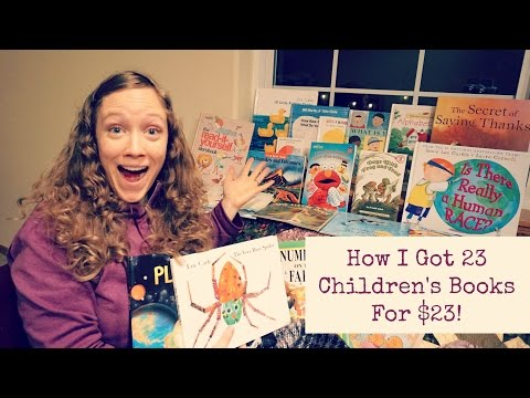 23 Kid's Books For $23 + Great Book Ideas!