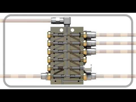 Intecs Skf Lincoln Quicklub Progressive Lubrication System Youtube