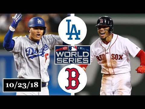 Los Angeles Dodgers vs Boston Red Sox Highlights || World Series Game 1 || October 23, 2018