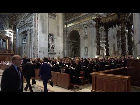 Here I Am Lord - @ Vatican 2017