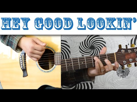 Hey Good Lookin' - Hank Williams | Easy Guitar Tutorial, Basic Chords and Strumming