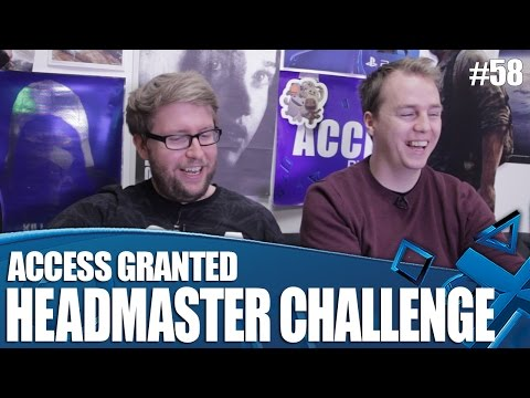 Access Granted - PS VR Headmaster Challenge