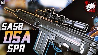 gameplay DSA SA58 SPR  Warface