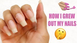 HOW I GREW OUT MY NAILS | DESI PERKINS