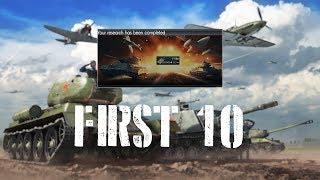 War Thunder First 10 - T-55a Main Battle Tank