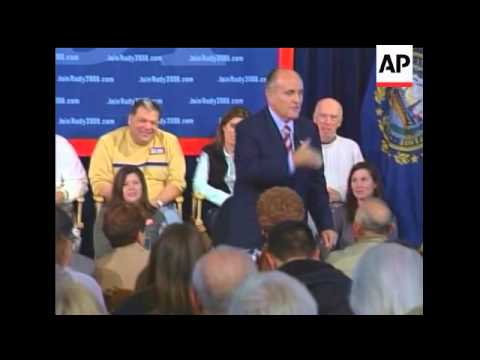 Exeter, NH: 8-Year-Old Asks What Rudy Would Do If Aliens Came From Outer Space