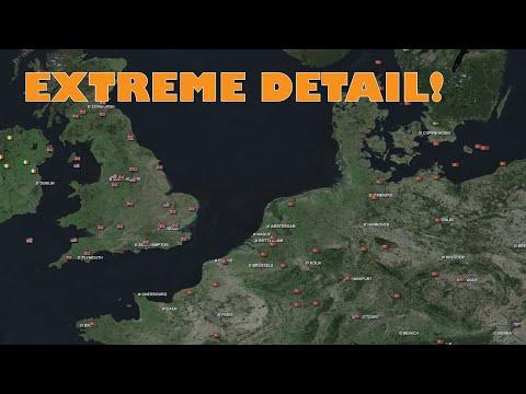 Hoi IV + Google Earth = Epic Timelapse! |
