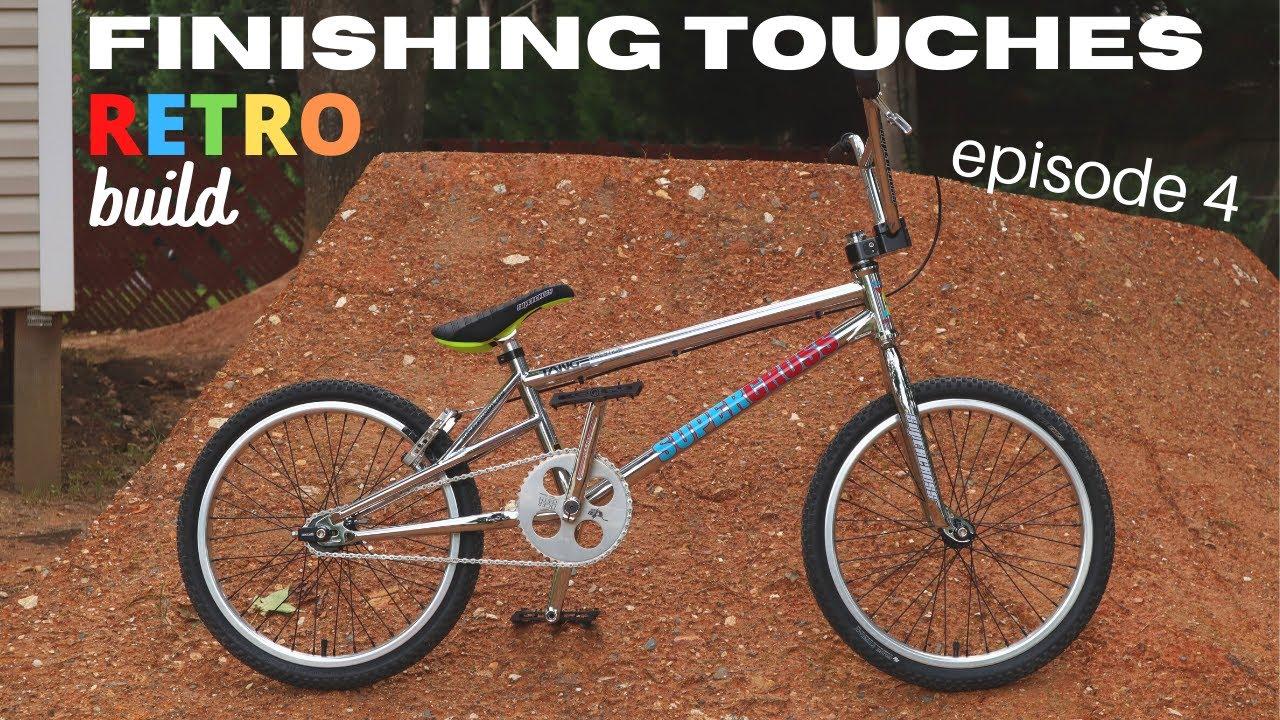 How to install V-brakes A-Z on your BMX bike - Retro build ep. 4