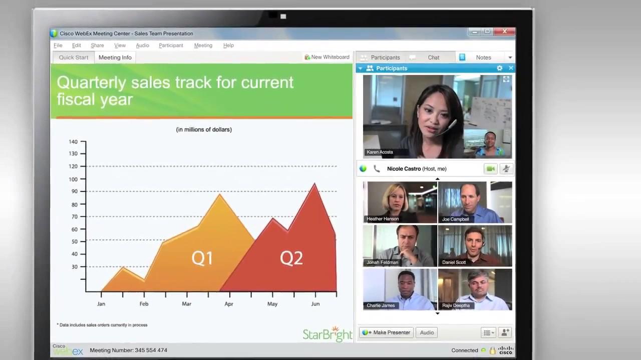 Cisco WebEx Overview - YouTube