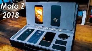 Moto Z 2018 Kingsman VIP Special Edition - Unboxing