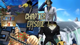 One Piece: Pirate Warriors 3 - Chapter 3 [Episode 1: The City of Water, Water 7] ~ Hard Mode