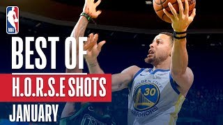NBA's Best H.O.R.S.E. Shots | January 2018-19 NBA Season