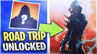 "*NEW* SECRET ""ROAD TRIP"" SKIN LEAKED! (Fortnite How to Unlock SECRET SKIN)"