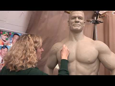 John Cena - Lifesize Sculpt - Water based Clay - Demonstration